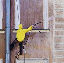 Nettoyage de façades à Carentan
